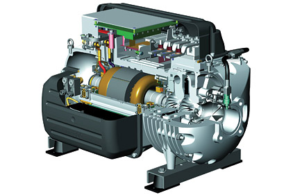 Magnetic Bearing Compressor